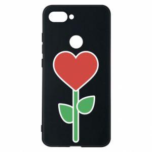 Etui na Xiaomi Mi8 Lite Kwiat - serca