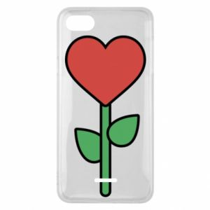 Etui na Xiaomi Redmi 6A Kwiat - serca