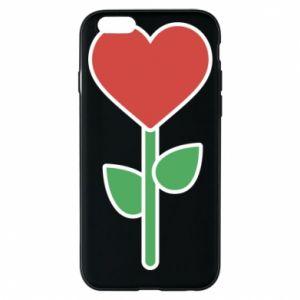Etui na iPhone 6/6S Kwiat - serca