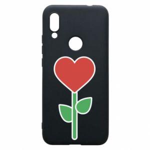 Etui na Xiaomi Redmi 7 Kwiat - serca