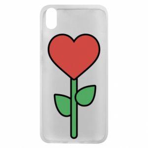 Etui na Xiaomi Redmi 7A Kwiat - serca