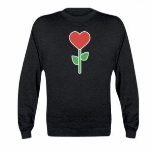 Bluza dziecięca Kwiat - serca