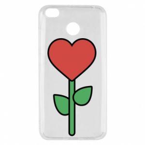 Etui na Xiaomi Redmi 4X Kwiat - serca
