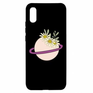 Xiaomi Redmi 9a Case Flowers on the planet