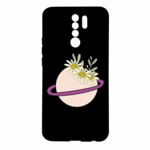 Xiaomi Redmi 9 Case Flowers on the planet