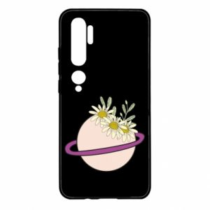 Xiaomi Mi Note 10 Case Flowers on the planet