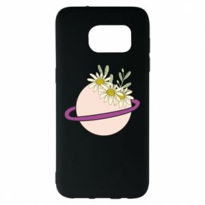 Samsung S7 EDGE Case Flowers on the planet