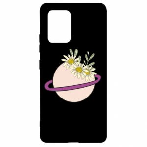 Samsung S10 Lite Case Flowers on the planet