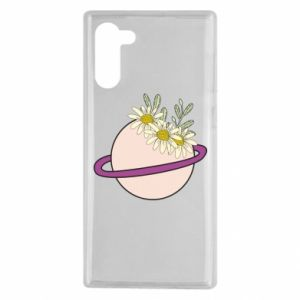 Samsung Note 10 Case Flowers on the planet