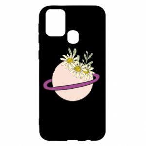 Samsung M31 Case Flowers on the planet