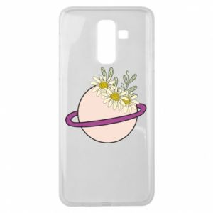 Samsung J8 2018 Case Flowers on the planet