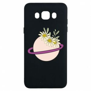 Samsung J7 2016 Case Flowers on the planet