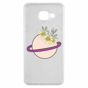 Samsung A3 2016 Case Flowers on the planet