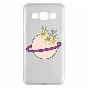 Samsung A3 2015 Case Flowers on the planet