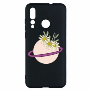 Huawei Nova 4 Case Flowers on the planet