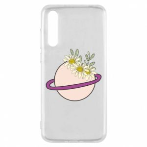 Huawei P20 Pro Case Flowers on the planet