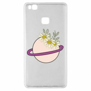 Huawei P9 Lite Case Flowers on the planet