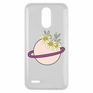 Lg K10 2017 Case Flowers on the planet