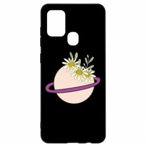 Samsung A21s Case Flowers on the planet