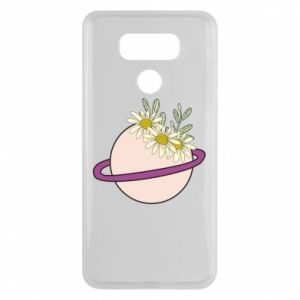 LG G6 Case Flowers on the planet