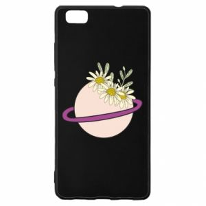 Huawei P8 Lite Case Flowers on the planet