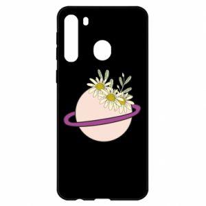 Etui na Samsung A21 Kwiaty na naszej planecie