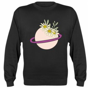 Sweatshirt Flowers on the planet