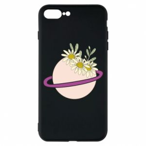 iPhone 7 Plus case Flowers on the planet