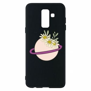 Samsung A6+ 2018 Case Flowers on the planet