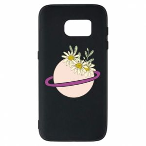 Samsung S7 Case Flowers on the planet