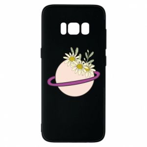 Samsung S8 Case Flowers on the planet