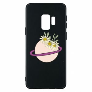 Samsung S9 Case Flowers on the planet
