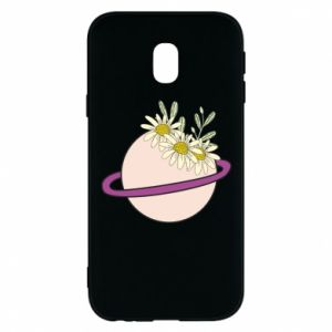 Samsung J3 2017 Case Flowers on the planet
