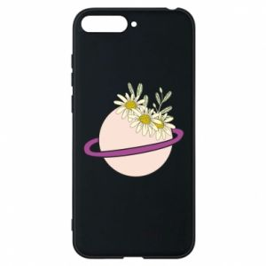 Huawei Y6 2018 Case Flowers on the planet