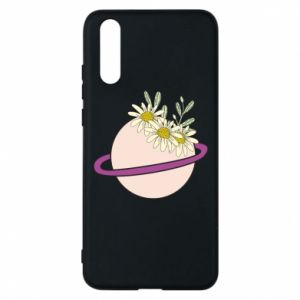 Huawei P20 Case Flowers on the planet