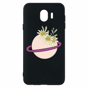 Samsung J4 Case Flowers on the planet