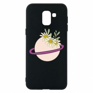 Samsung J6 Case Flowers on the planet