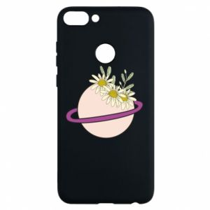 Huawei P Smart Case Flowers on the planet