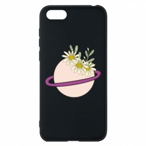 Huawei Y5 2018 Case Flowers on the planet