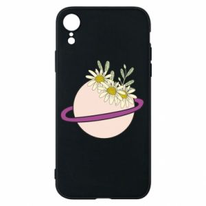 iPhone XR Case Flowers on the planet