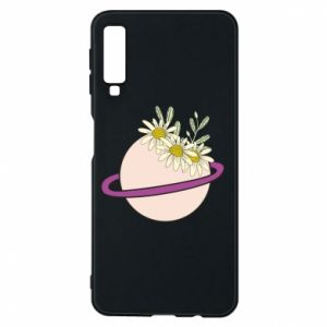 Samsung A7 2018 Case Flowers on the planet