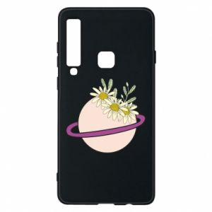 Samsung A9 2018 Case Flowers on the planet