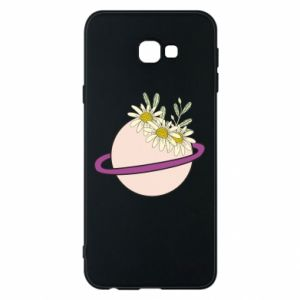 Samsung J4 Plus 2018 Case Flowers on the planet