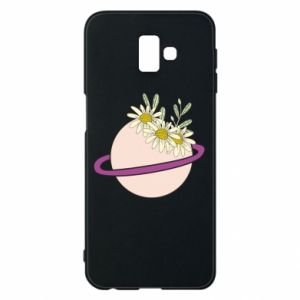 Samsung J6 Plus 2018 Case Flowers on the planet