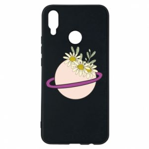 Huawei P Smart Plus Case Flowers on the planet