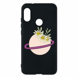 Mi A2 Lite Case Flowers on the planet