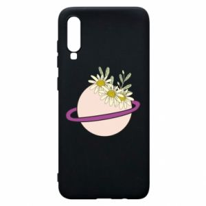 Samsung A70 Case Flowers on the planet