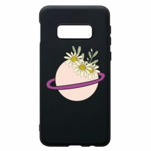 Samsung S10e Case Flowers on the planet