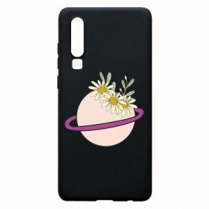 Huawei P30 Case Flowers on the planet