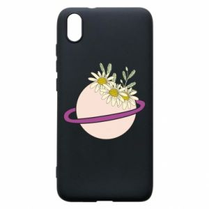 Xiaomi Redmi 7A Case Flowers on the planet
